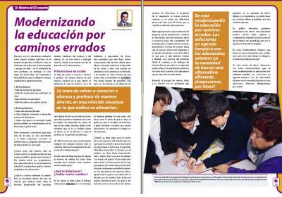 IMAGEN - Modernizando la Educación..................